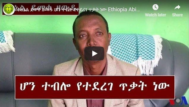 Colonel Demeke Zewdu's analysis of the situation in Amhara region