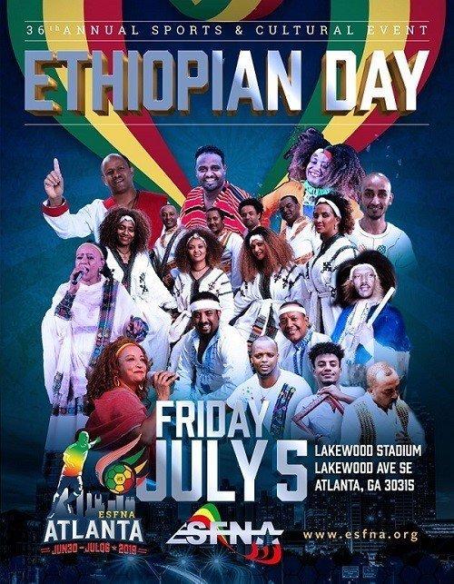ESFNA 2019 Atlanta _ Ethiopian Day Event