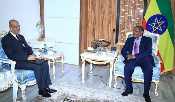 Foreign Minister Gedu held discussion with Egyptian Ambassador to Ethiopia