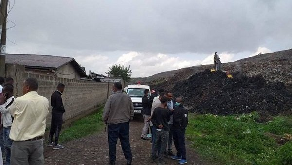 Garbage dump landslide at koshe in Addis Ababa claimed life again