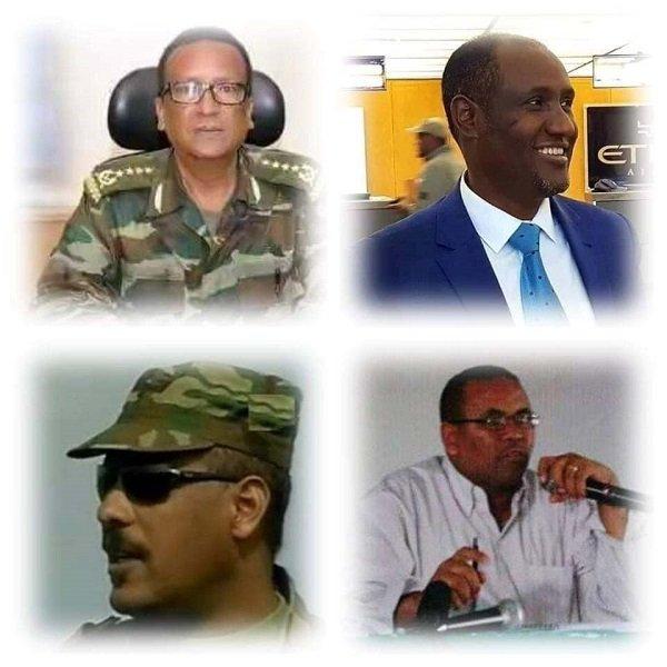 Seare Mekonnen, Ambachew Mekonnen, Gezai Abrea and Ezeze Wasse