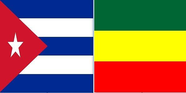 Cuba _ Ethiopia flag