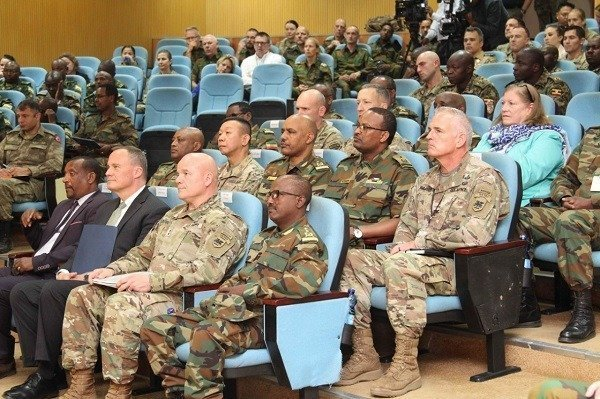Ethiopia-US military training launched in the capital Addis Ababa