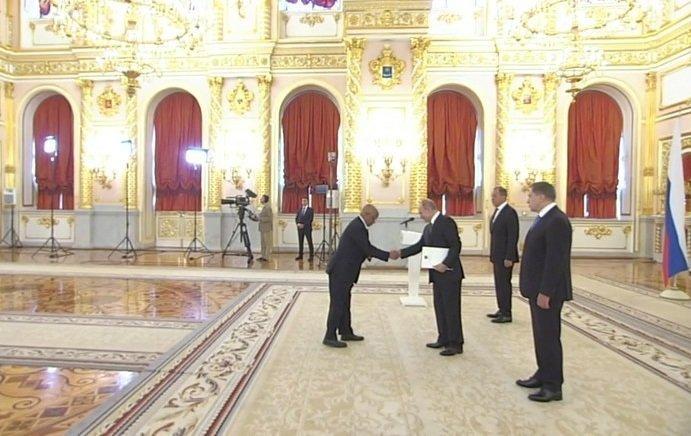 Ethiopian Ambassador to Russia  _ Putin