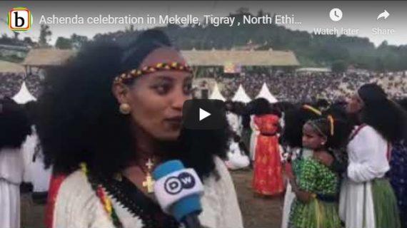 Ashenda celebration in Mekelle, Northern Ethiopia