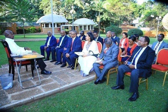 Ethiopian Delegation _ Uganda