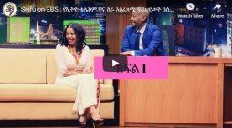 Seifu on EBS interview with Ethiotelecom CEO, Firehiwot Tamiru