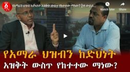 Andafta Media interview with Tamrat Layne