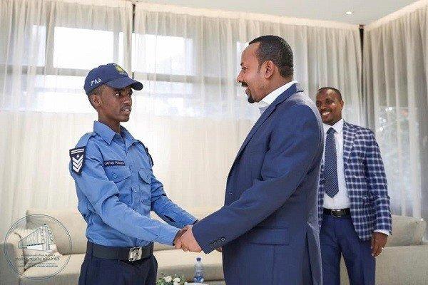 Constable Siraj Abdela _ Ethiopia _ patriotism