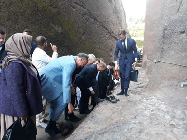 French project to rescue Lalibela rock-hewn churches kicks off