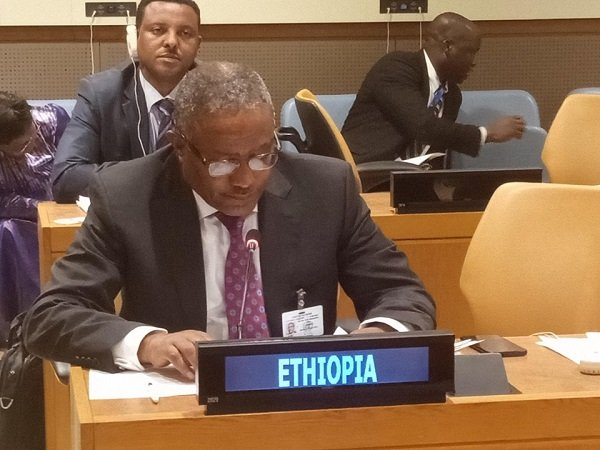 Foreign Minister _ Gedu  Andargachew _ Ethiopia