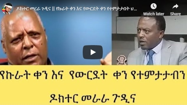 Merera Gudina's interview with Semeneh Bayferes