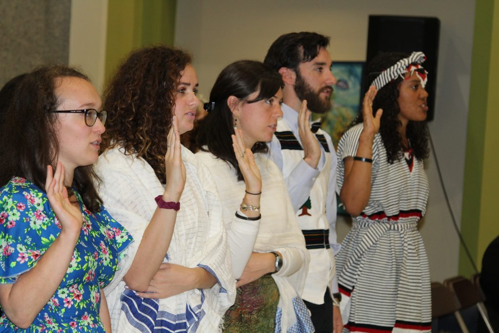 Ethiopia : 23 New Peace Corps Volunteers Swear- in at U S