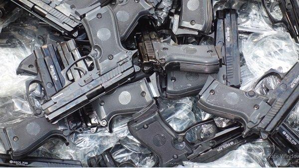 smuggled handguns _ Ethiopia _ Bahir Dar