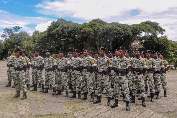 Raising eyebrows as Addis Ababa city introduce new police uniform
