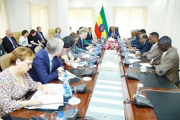 Gedu Andargatchew held talks with European Union Parliament members