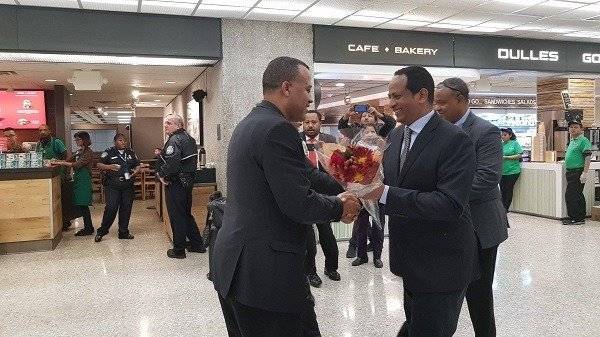 Amhara region high-level delegation in the United States for a working visit