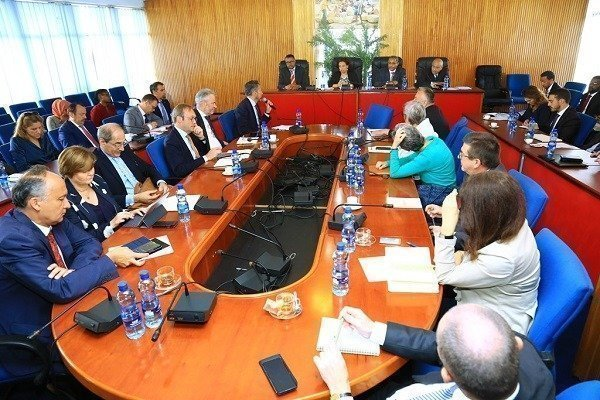 Ethiopian FM Gedu Andargachew- EU Ambassadors held Discussions