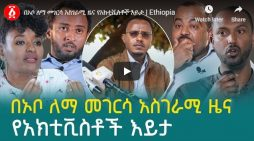 Activists remark on news of Lemma Megersa difference with EPRDF leadership including Abiy