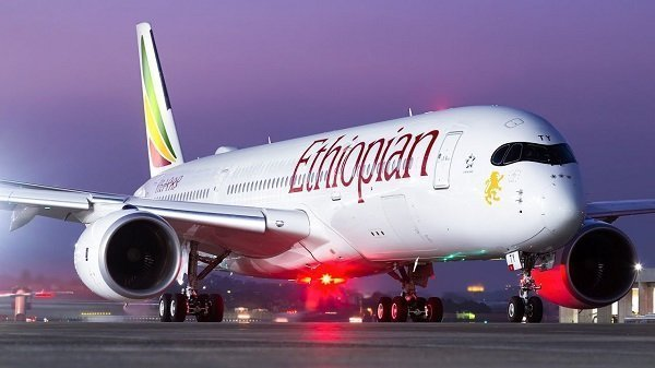 Ethiopian Airlines Airbus A-350 Airplane to Make Debut at Toronto Pearson Int'l Airport