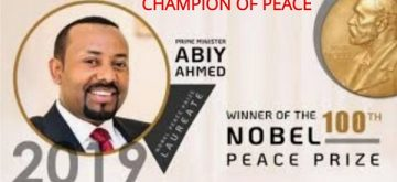 "Congratulating Abiy ""Champion of Peace"" Ahmed!"