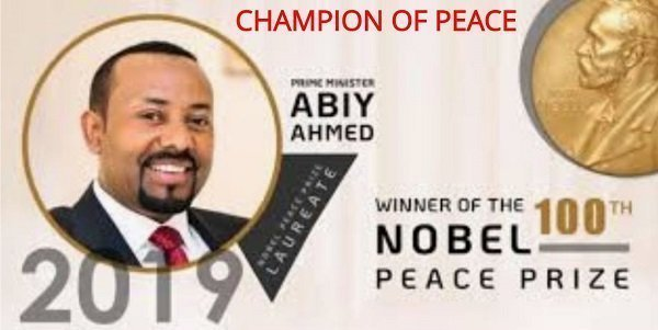 Abiy Ahmed Nobel Peace Prize