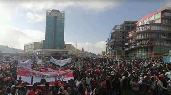 Ethiopian Muslims protest _ Dessie _ Woldia