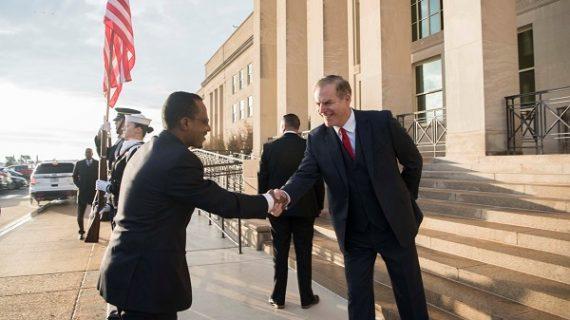 U.S., Ethiopian Defense Officials Meet at Pentagon