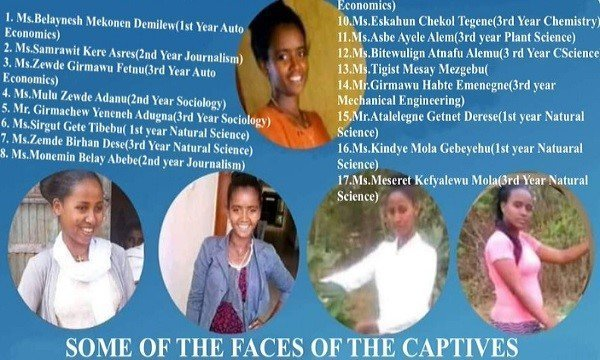 abducted Dembi Dollo university students