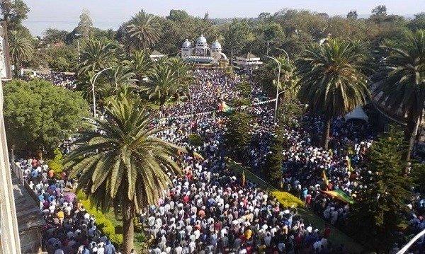 Bahir Dar Protest _ Ethiopia _ Oromo region
