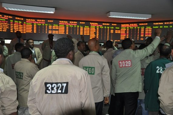 Ethiopian Commodity Exchange (ECX) traded 5.12 billion birr worth commodities in December