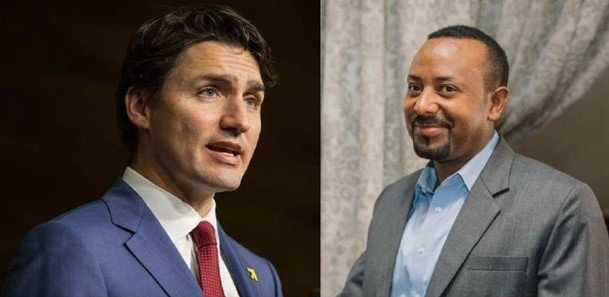 Justin Trudeau _ Ethiopia visit