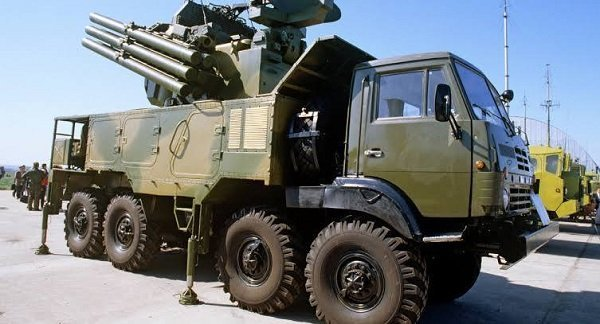 Russia delivered Pantsir-S1 air defense missile-gun systems to Ethiopia