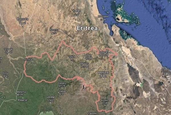Tigray : Protest over District restructuring,road closure reported