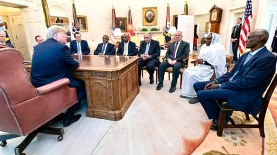 Donald Trump met Foreign Affairs ministers of Egypt, Ethiopia and Sudan