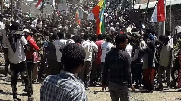 Ethiopia _ support rally