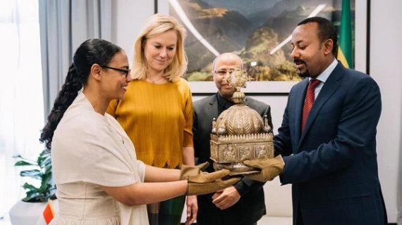 Ethiopia recovers stolen 18th century Crown