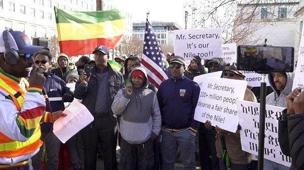 Trump _ Ethiopians Protest