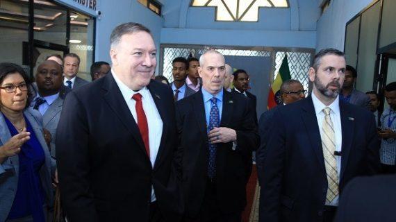 Pompeo denies the U.S. did not put Pressure on Ethiopia