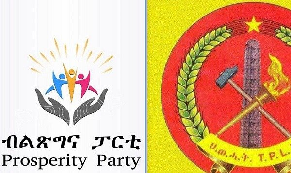 TPLF _ Prosperity Party _ Ethiopia