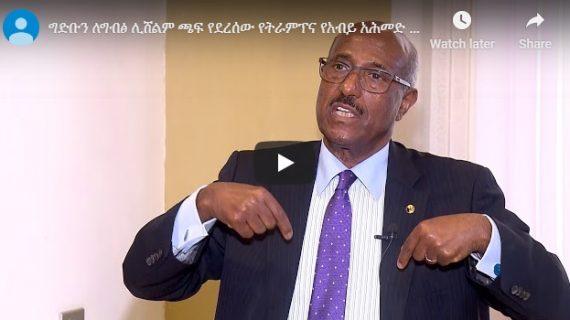 Seyoum Mesfin talks about Renaissance dam, Simegmew Bekele and Eritrea