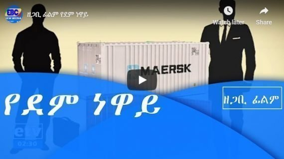 Documentary about two containers of firearms seized in Ethiopia