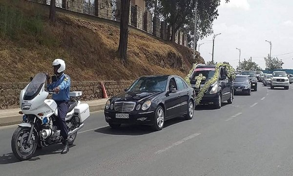 Wubshet Workalemahu  _ funeral
