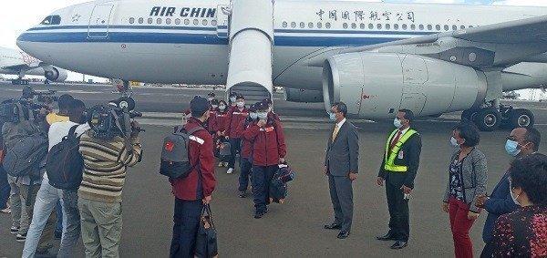 Chinese doctors  _ COVID 19 _ Ethiopia