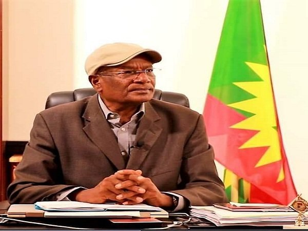 Oromo Liberation Front Chairman, Dawud Ibsa
