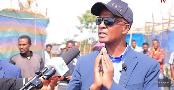 Eskinder nega _ Balderas for Genuine Democracy Party