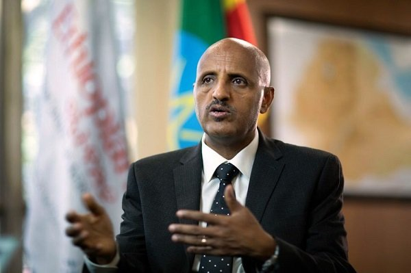 Ethiopian Airlines CEO says $550 mln loss in revenue,no permanent employee laid off