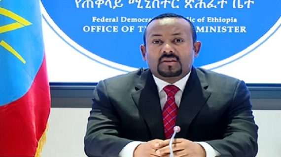 Ethiopian Grand Renaissance Dam will start filling water this year,says PM Abiy Ahmed