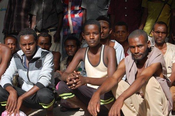 Ethiopian Migrants _ Saudi Arabia