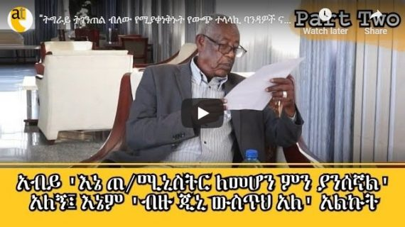 """Sebhat Nega trashes """"Tigray secessionists"""" as """"banda"""""""